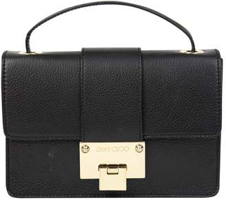 Jimmy Choo Rebel Leather Crossbody Bag