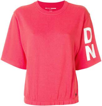 DKNY logo sleeve T-shirt