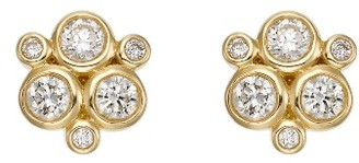 Women's Temple St. Clair Diamond Stud Earrings $2,000 thestylecure.com