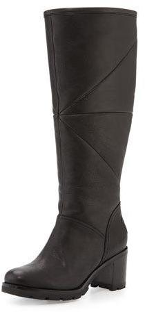 UGG UGG Avery Shearling Knee Boot, Black