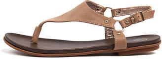 Ko fashion Aprille Blush Sandals Womens Shoes Casual Sandals-flat Sandals