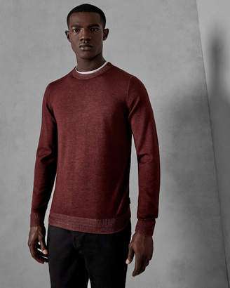 Ted Baker NEWAB Garment-dyed wool sweater