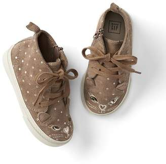 Cat mid-top trainers $49.95 thestylecure.com