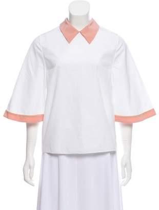 Roksanda Lightweight Short Sleeve Top