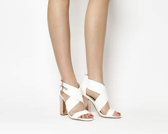 Office Prisoner X Front Block Heel Sandals