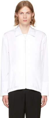 Marni White Poplin Sport Jacket