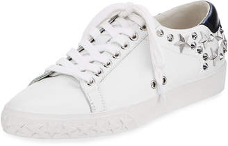 Ash Dazed Studded Low-Top Sneakers, White