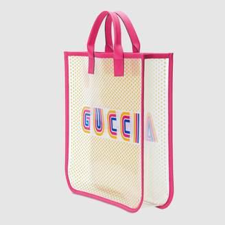 """Gucci Children's Amour"""" vinyl tote"""