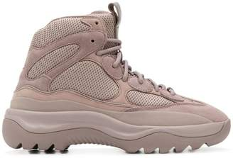 Yeezy ankle lace-up sneakers