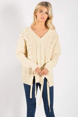 Elan International Knit Cream Sweater