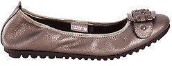 Django & Juliette NEW Womens Flats Bellez Flat Pewter Shoes