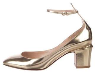 908e93efee3 Valentino Gold Pumps - ShopStyle