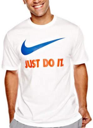 Nike Just Do It Short Sleeve Swoosh Tee