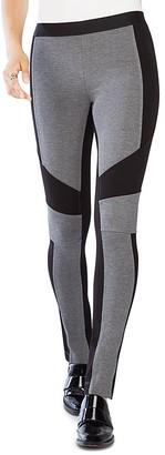 BCBGMAXAZRIA Jeremiah Color Block Leggings $138 thestylecure.com