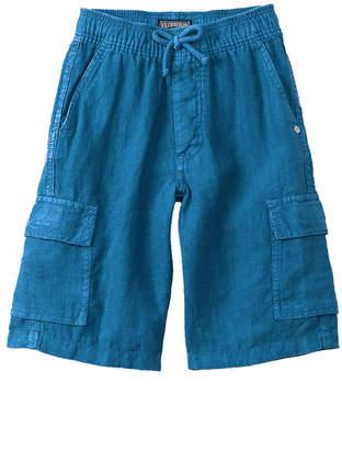 Vilebrequin Boys' Linen Cargo Short