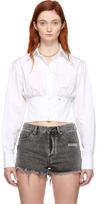 Off-White White Corset Shirt