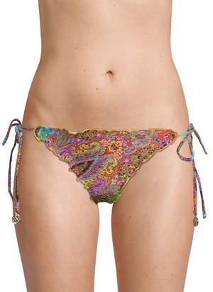 Luli Fama Women's Multicolored Bikini Bottom