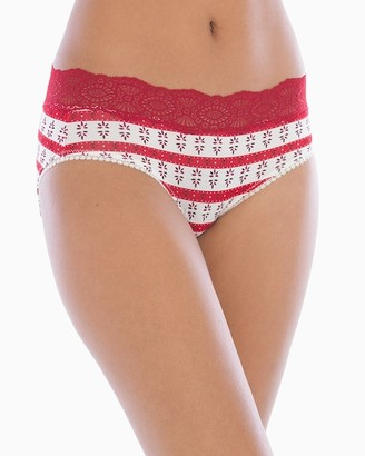 Embraceable Super Soft Geo Lace Hipster