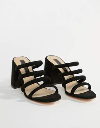 Miss Selfridge tube strappy sandal