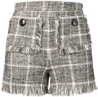 Elisabetta Franchi tweed shorts