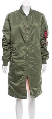 Alpha Industries Padded Bomber Coat