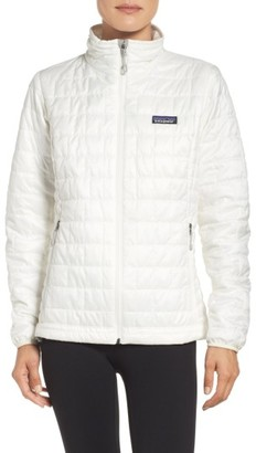 Women's Patagonia Nano Puff Water Resistant Jacket $199 thestylecure.com