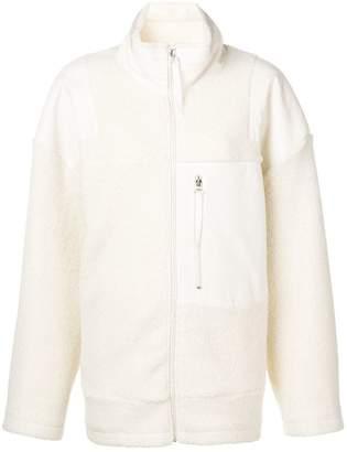 MM6 MAISON MARGIELA patchwork shearling jacket