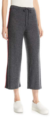 Sundry Cropped Drawstring Lounge Pants
