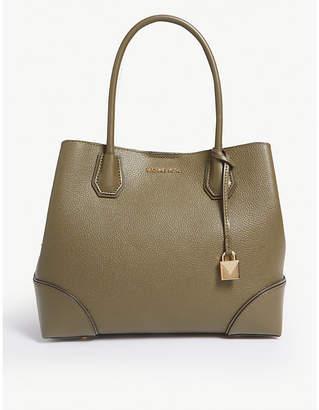 MICHAEL Michael Kors Mercer Gallery leather satchel