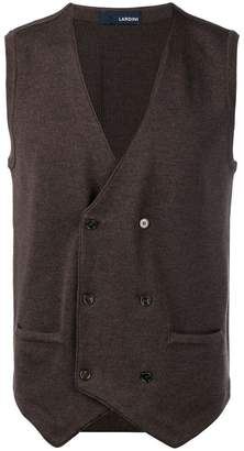 Lardini double-breasted gilet