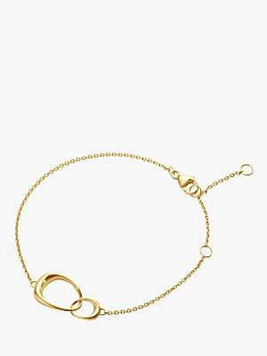 Georg Jensen 18ct Gold Offspring Chain Bracelet, Gold