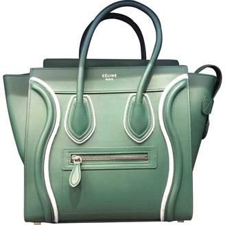 Celine Luggage leather tote