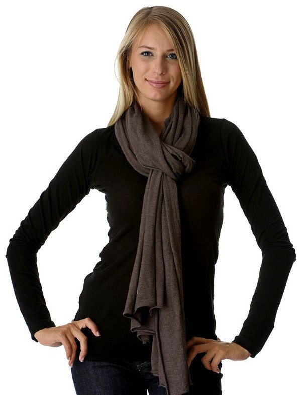 Perk Long Cotton Scarf