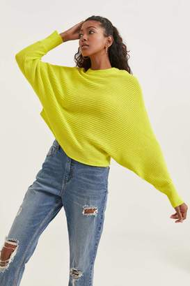 Ardene Neon Sweater with Wide Sleeves