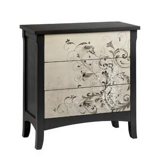 World Menagerie Asdsit 3 Drawer Accent Chest World Menagerie