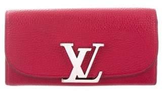 Louis Vuitton Veau Racine Vivienne Long Wallet