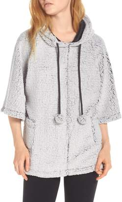Co Retrospective Hooded Fleece Poncho