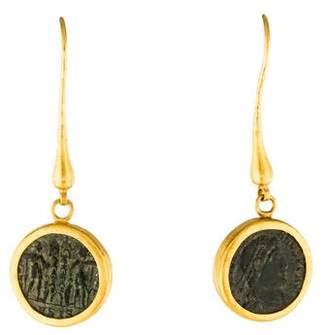 Gurhan Byzantine Coin Earrings