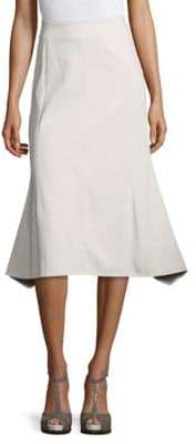 Derek Lam Seamed Midi Skirt