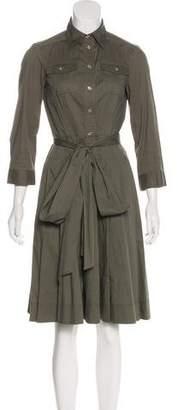 Lauren Ralph Lauren Collared A-Line Dress