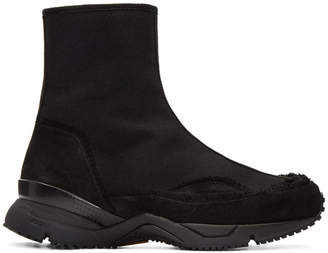 Damir Doma Black Fitzgerald High-Top Sneakers