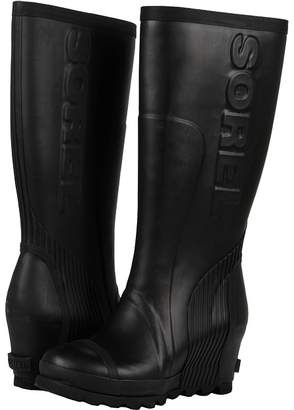 Sorel Joan Rain Wedge Tall Women's Rain Boots