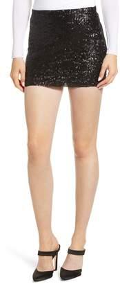 Bailey 44 Dancing Queen Sequin Miniskirt