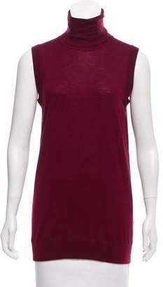 Dolce & Gabbana Sleeveless Wool Turtleneck w/ Tags