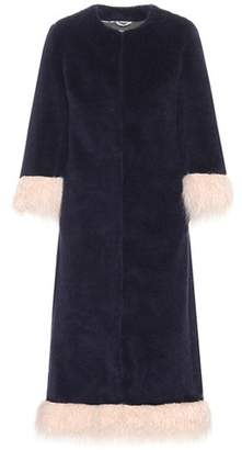Shrimps Ramsey wool-blend coat