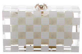 Charlotte Olympia Pandora Box Clutch White Pandora Box Clutch