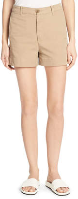 Vince Stretch-Cotton Utility Shorts