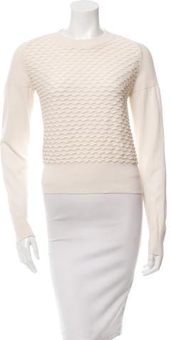 3.1 Phillip Lim3.1 Phillip Lim Textured Crew Neck Sweater