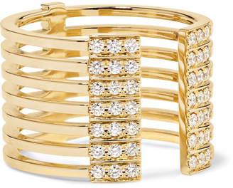 Melissa Kaye - Izzy 18-karat Gold Diamond Ring