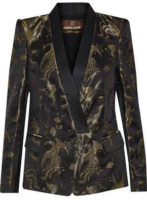Roberto Cavalli Metallic Jacquard Jacket